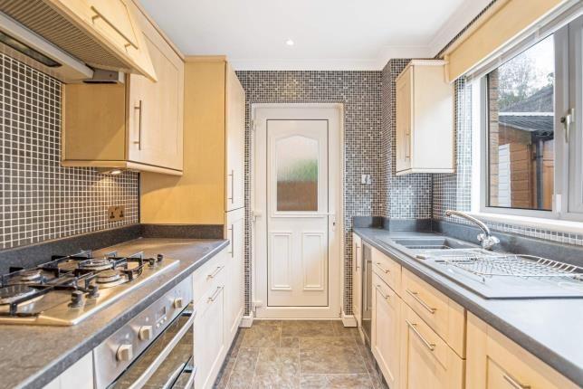 Kitchen of Clove Mill Wynd, Larkhall, South Lanarkshire, Scotland ML9