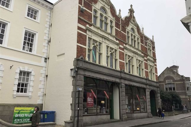 Thumbnail Retail premises to let in Wearhouse, 10, Princes Street, Truro