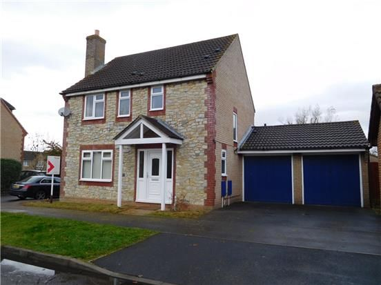 Thumbnail Detached house to rent in Long Croft, Yate, Bristol