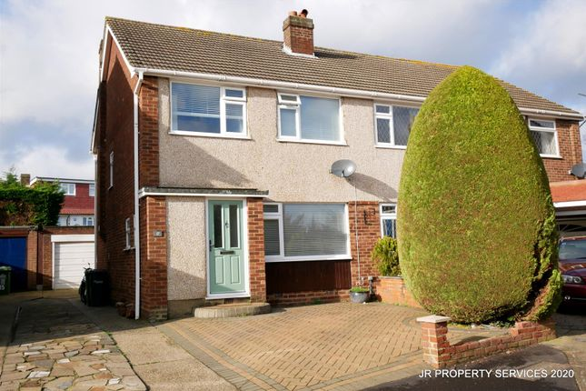 Thumbnail Semi-detached house to rent in Willow Close, Cheshunt, Waltham Cross