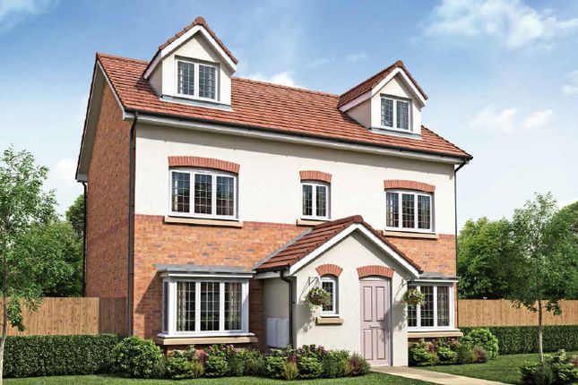 Thumbnail Detached house for sale in Roseacre Gardens, Rufford, Lancashire