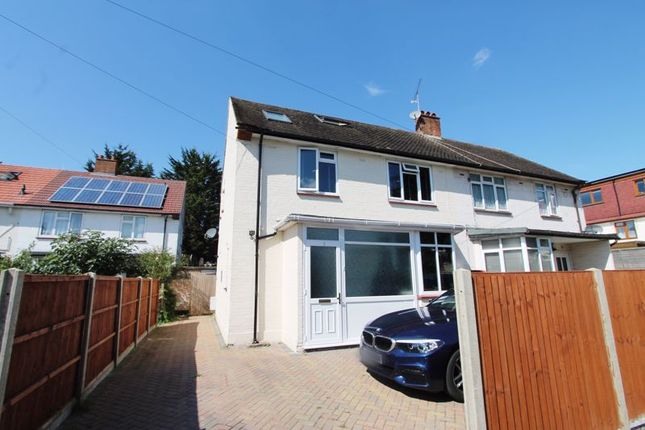 Thumbnail Semi-detached house for sale in Thorn Close, Northolt