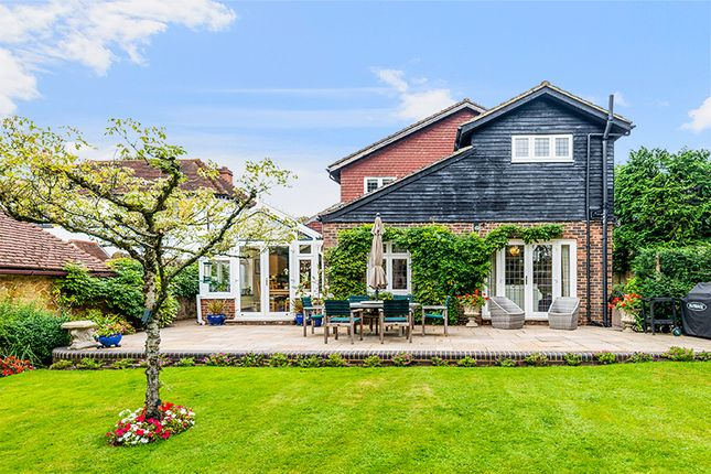 Thumbnail Detached house for sale in Hookwood Park, Limpsfield, Oxted