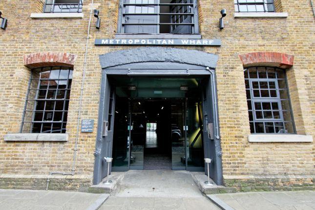 Thumbnail Flat to rent in Metropolitan Wharf, London