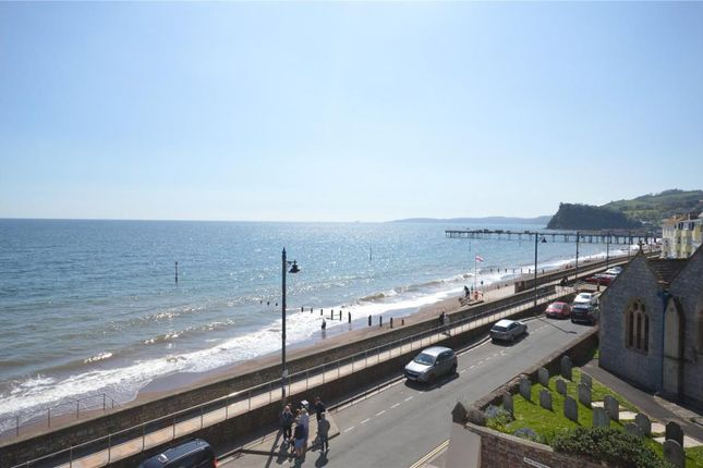 Thumbnail Flat for sale in Clifton House, Den Promenade, Teignmouth, Devon
