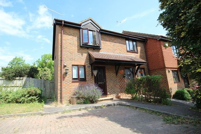 Thumbnail End terrace house to rent in Broad Hinton, Twyford, Reading
