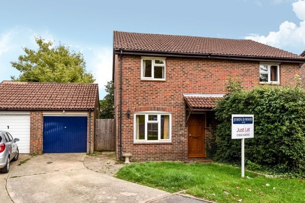 Thumbnail Semi-detached house to rent in The Rampart, Lower Buckland Road, Lymington