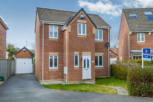 Thumbnail Detached house to rent in Hayfield Close, Normanton