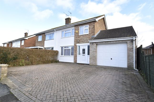 Thumbnail Semi-detached house for sale in Moreton Close, Bishops Cleeve, Cheltenham, Gloucestershire