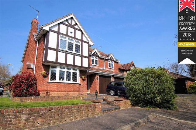 Thumbnail Detached house for sale in Jubilee Close, Hockley
