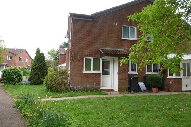 Thumbnail End terrace house for sale in Orchid Close, Taunton