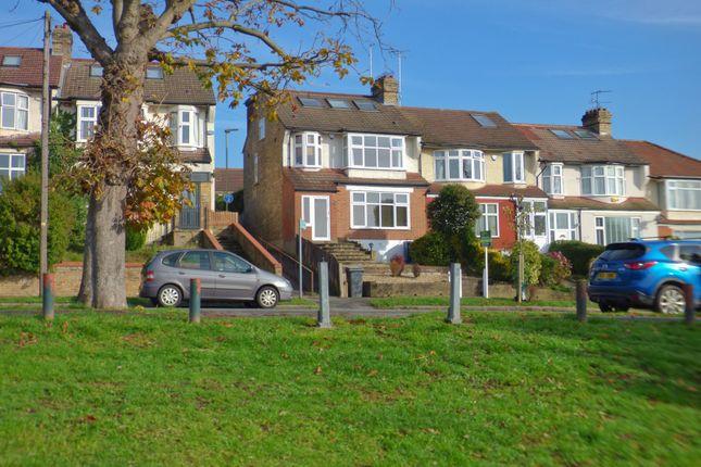 Thumbnail End terrace house for sale in Brookside, East Barnet