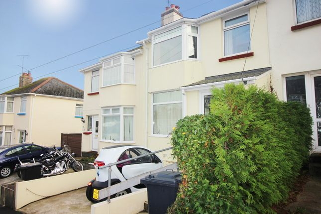 Thumbnail Terraced house for sale in Barton Avenue, Paignton