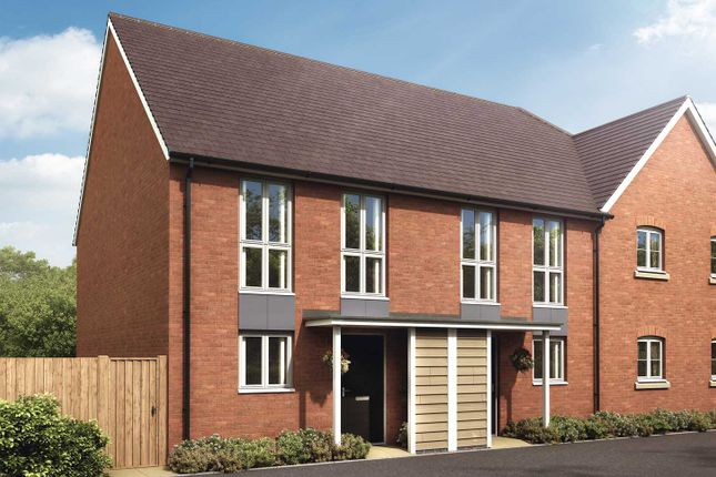 "2 bed end terrace house for sale in ""The Hambrook"" at Oxleigh Way, Stoke Gifford, Bristol BS34"