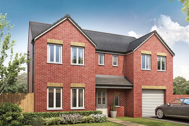 "Thumbnail Detached house for sale in ""The Edlingham"" at Silksworth Road, New Silksworth, Sunderland"