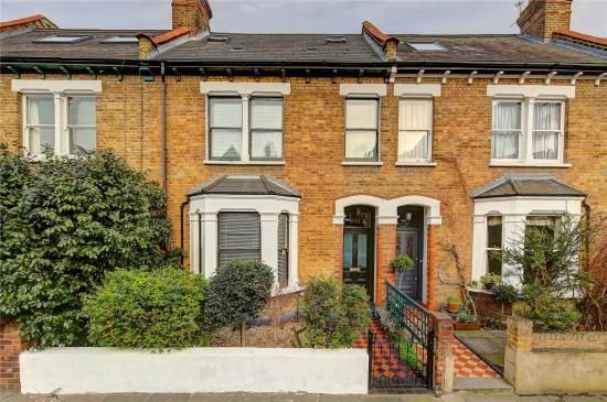 Thumbnail Terraced house for sale in Sandycombe Road, Richmond
