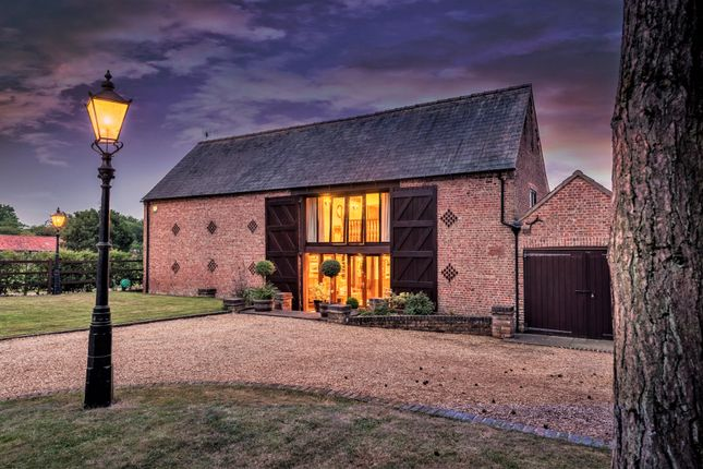 Thumbnail Barn conversion for sale in Main Road, Elm, Wisbech