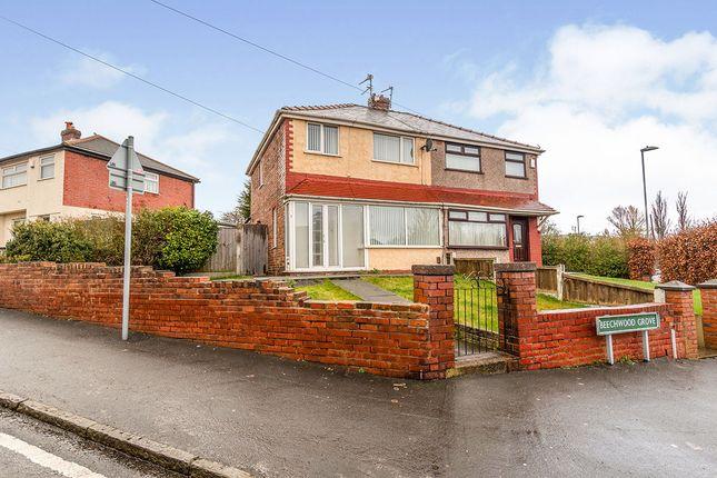 Front of Beechwood Grove, Prescot, Merseyside L35