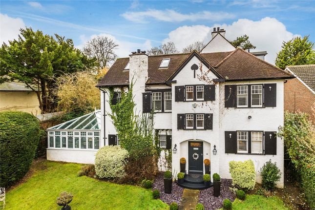 Thumbnail Detached house for sale in Riddlesdown Road, Purley