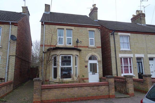 Thumbnail Flat to rent in Flat C, Granville Street, Peterborough