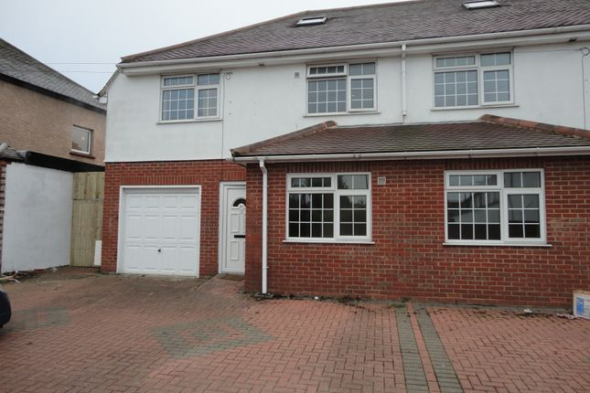 Thumbnail Semi-detached house to rent in Minterne Avenue, Southall, Middlesex