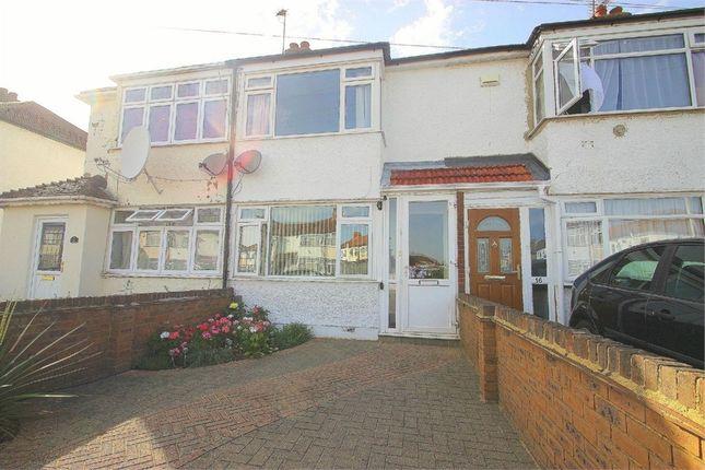 Thumbnail Terraced house to rent in Lynhurst Road, Uxbridge, Middlesex