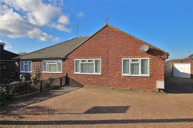 Thumbnail Semi-detached bungalow for sale in Knaphill, Woking, Surrey