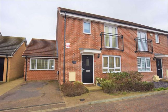 4 bed semi-detached house for sale in Wilmott Close, Basildon, Essex SS14