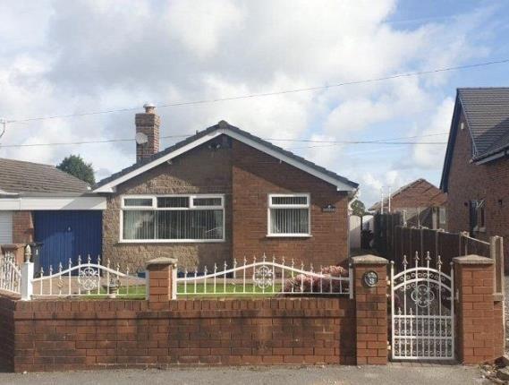 Thumbnail Bungalow for sale in Bryn Teg Estate, Brynford, Holywell, Flintshire