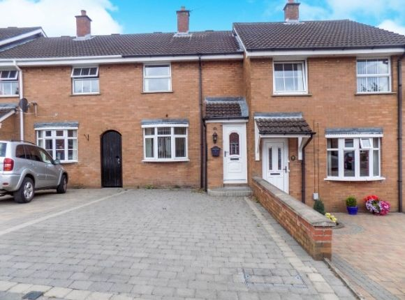 Thumbnail Terraced house to rent in Hilden Court, Lisburn
