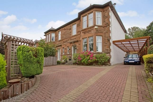 Thumbnail Semi-detached house for sale in Stamperland Crescent, Clarkston, Glasgow, East Renfrewshire