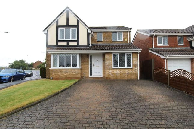 Thumbnail 4 bed detached house for sale in Ellan Hay Road, Bradley Stoke, Bristol
