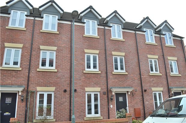 Thumbnail Town house for sale in Sapphire Way, Brockworth, Gloucester