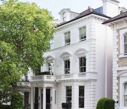 Thumbnail End terrace house to rent in Upper Phillimore Gardens, Kensington