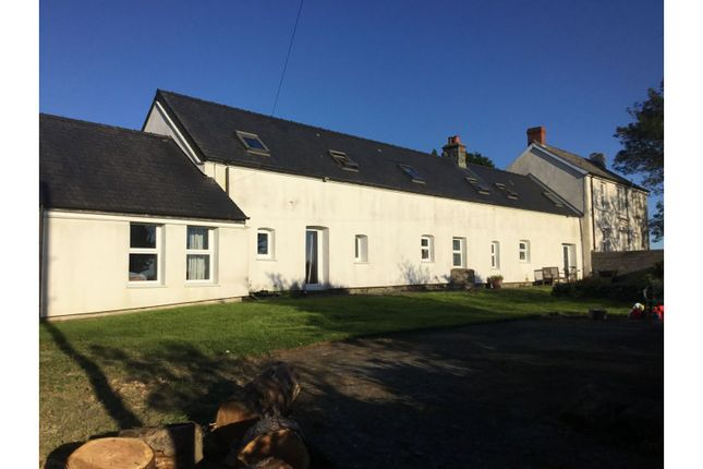 Thumbnail Detached house for sale in Llanychaer, Fishguard