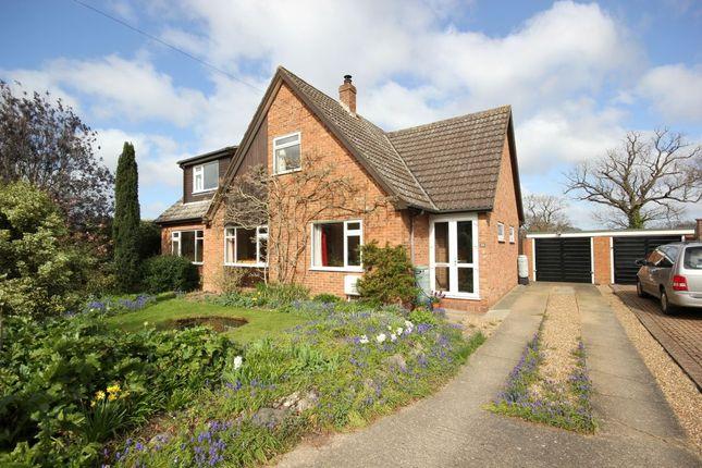 Thumbnail Detached house for sale in Harker Way, Blofield Heath, Norwich