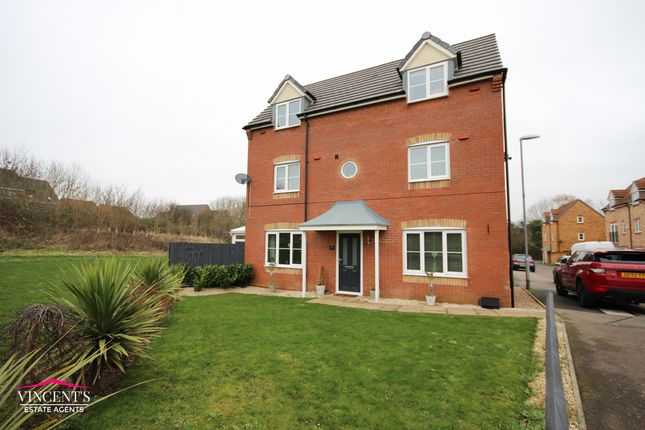 Thumbnail Detached house for sale in Stackyard Close, Thorpe Astley, Leicester
