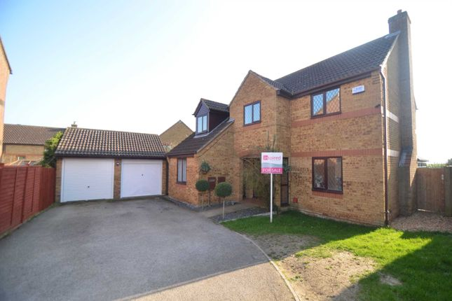 Thumbnail Detached house for sale in Cartmel Close, Bletchley, Milton Keynes