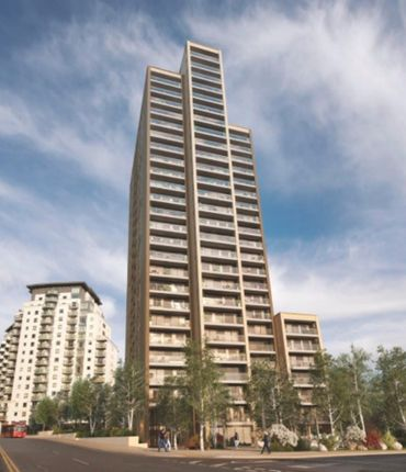 Thumbnail Flat to rent in Heritage Tower, 118 East Ferry Road, Isle Of Dogs