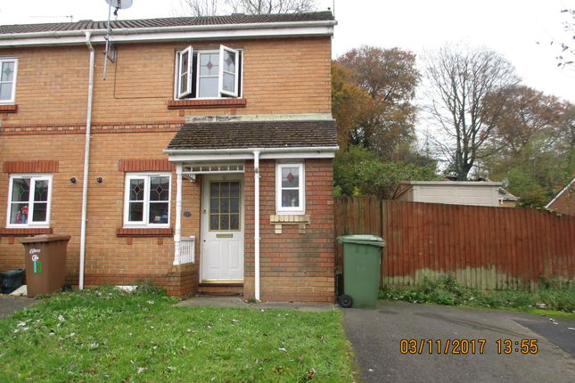 Thumbnail Semi-detached house to rent in Rowland Drive, Caerphilly