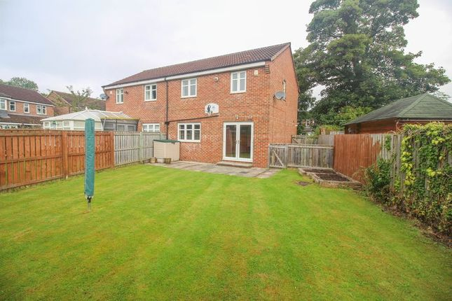 Thumbnail Semi-detached house to rent in The Pavilion, Swalwell, Newcastle Upon Tyne