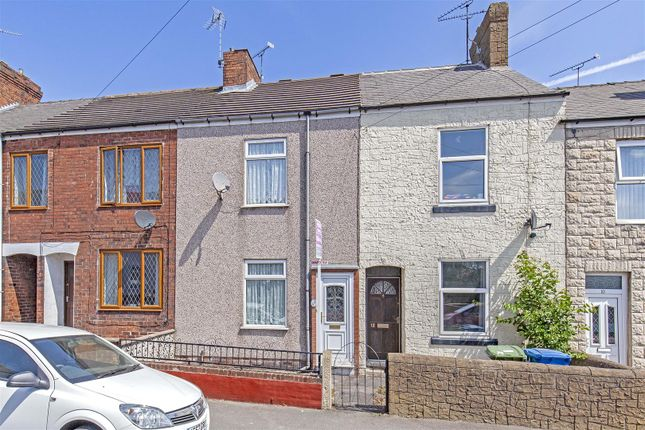 Thumbnail Terraced house for sale in Ashfield Road, Hasland, Chesterfield