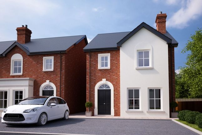 Thumbnail Detached house for sale in Ballycullen Halt, Scrabo Road, Newtownards