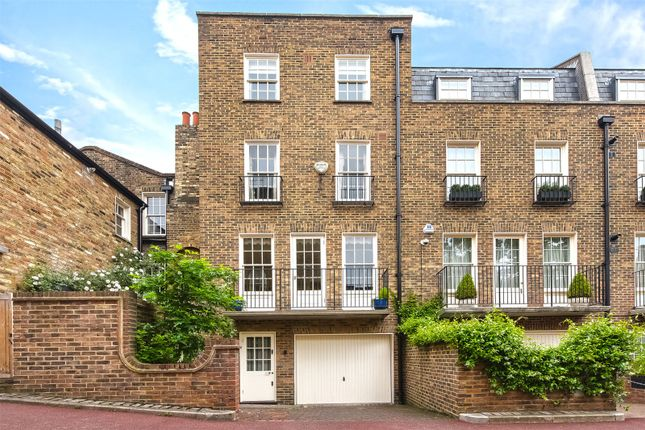Thumbnail Terraced house for sale in Bourne Street, Belgravia, London
