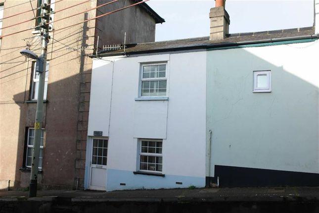 Thumbnail Terraced house to rent in Mill Street, Torrington, Devon