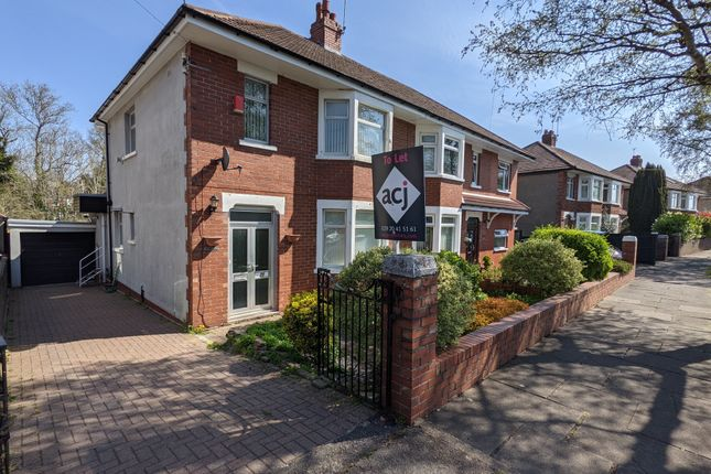 3 bed semi-detached house to rent in Fairfield Road, Penarth CF64