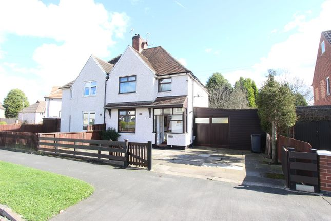 Thumbnail Semi-detached house for sale in Camville Road, Leicester