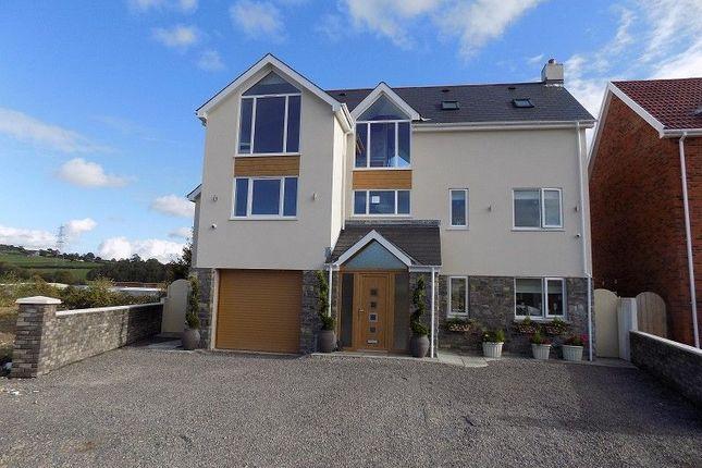 Thumbnail Detached house for sale in Brook View, Abergarw Farm New Road, Brynmenyn, Bridgend.