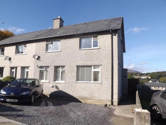 Thumbnail Semi-detached house for sale in Adwy Ddu Estate, Penrhyndeudraeth, Gwynedd