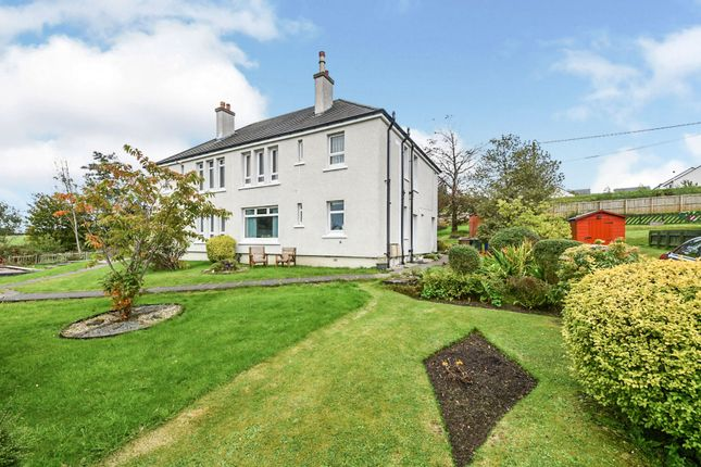 Thumbnail Flat for sale in Beith Road, Howwood, Johnstone